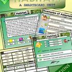 Habitat Science Smartboard Unit - 50 pages