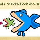 Habitats and Food Chains Powerpoint