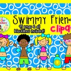 Swimmy Friends Clipart