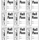Hall Passes for Classroom