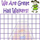 Hall Walkers - an incentive chart