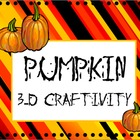Halloween 3-D Writing Craftivity