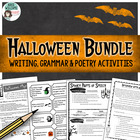 Halloween Activity Bundle - Writing, Grammar & Poetry