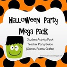 Halloween Activity Pack - Student Activity Pack, Poems, Cr