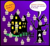 Halloween Animated Ghost Attendance for smartboard