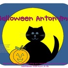 Halloween Antonyms--Practice for Kindergarten Students