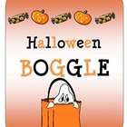 Halloween BOGGLE