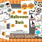 Halloween Bash Unit (Math, Literacy &amp; Writing)