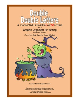Halloween Brain Teaser with Double Double Letters