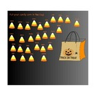 Halloween Candy Corn Attendance for Smartboard