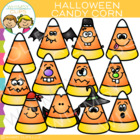 Halloween Candy Corn Clip Art