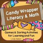 Halloween Candy Wrappers:  Literacy and Math Activities