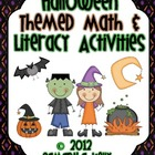 Halloween Centers - Math and Literacy