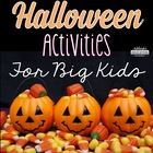Halloween Centers and Activities for Math Enrichment
