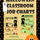 Halloween Classroom Job Charts