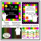 Halloween Clip Art - The Boo Crew!
