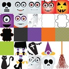 Halloween Clipart Mega Set - Papers , cliparts , frames , 
