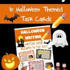 Halloween Common Core Writing Activity Cards