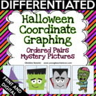 Halloween Coordinate Graphing Ordered Pairs {Mystery Pictures}