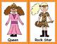 Halloween Costume Alphabet Cards - Cute & Fun 26 drawings