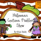 Halloween Costume Fashion Show Writing Activity
