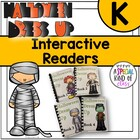 Halloween Costume Interactive Easy Reader