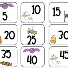 Halloween Count by Five Cards