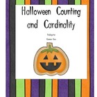 Halloween Counting and Cardinality- Kindergarten