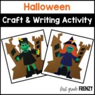 Halloween Craftivity and Printables