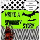 Halloween Creative Writing Helpers - Write a Spooky Story