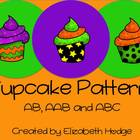 Halloween Cupcake Patterns- AB, AAB and ABC