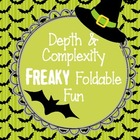 Halloween Depth and Complexity Freaky Foldable Fun: For Gi