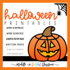 Halloween ELA Activities {October 31st}