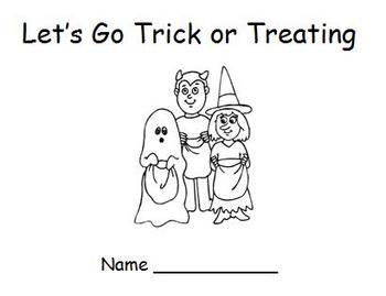 Halloween Emergent Reader - Trick or Treat