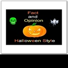 Halloween  Fact and Opinion Smartboard Language Arts Lesson