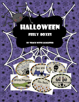 Halloween Feely Boxes {Mini-Unit}