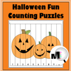 Halloween Fun Counting Puzzles