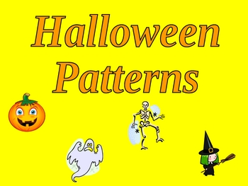 Halloween Fun with Patterns