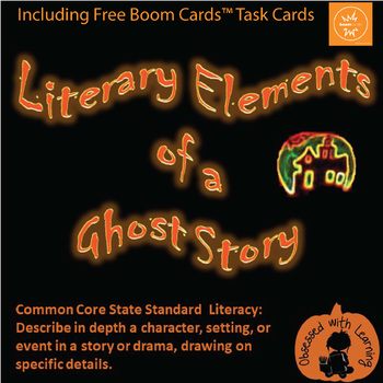 Halloween Ghost PowerPoint FREE - Literary Elements of a G