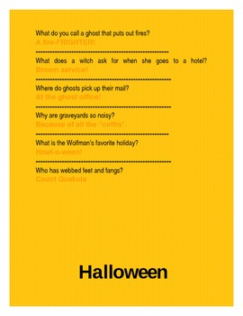 Halloween Ha Ha! bulletin board
