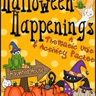 Halloween Happenings ~ A Thematic Activity Packet For Octo