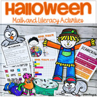 Halloween Happiness-Math and Literacy Fun