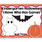 Halloween I Have Who Has Kindergarten Games (4)