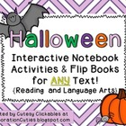 Halloween Interactive Notebook Activities & Flip Books for