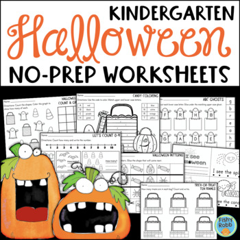 Halloween Kindergarten Printables