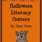 Halloween Literacy Center Activities and Worksheets