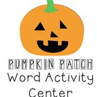 Halloween Literacy Center