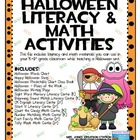 Halloween Literacy & Math Activities