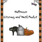 Halloween Literacy &amp; Math Packet
