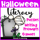 Halloween Literacy Puzzles and Games